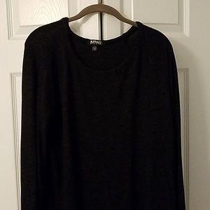 Buffalo black heathered soft sweatshirt large